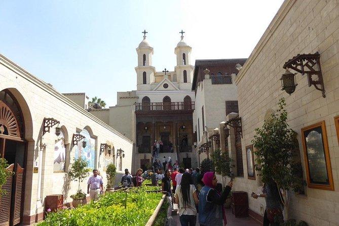 Coptic Cairo private day tour Cave Church,Hanging Church,Saint Simon monastery
