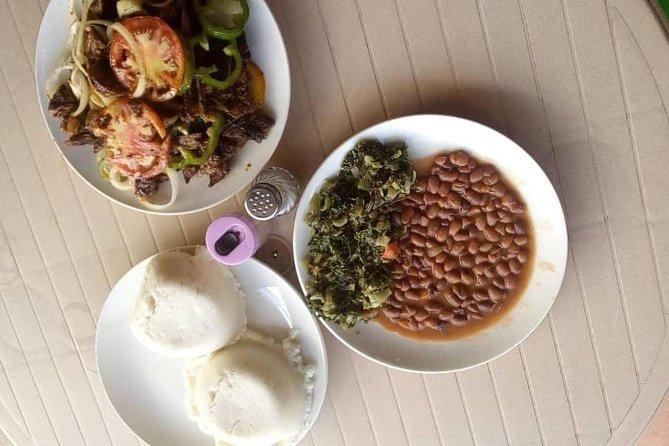 Zambian food cooking class