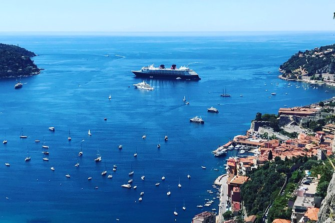 Group tour to Nice, Eze, Monaco and Monte-Carlo from Port of Villefranche