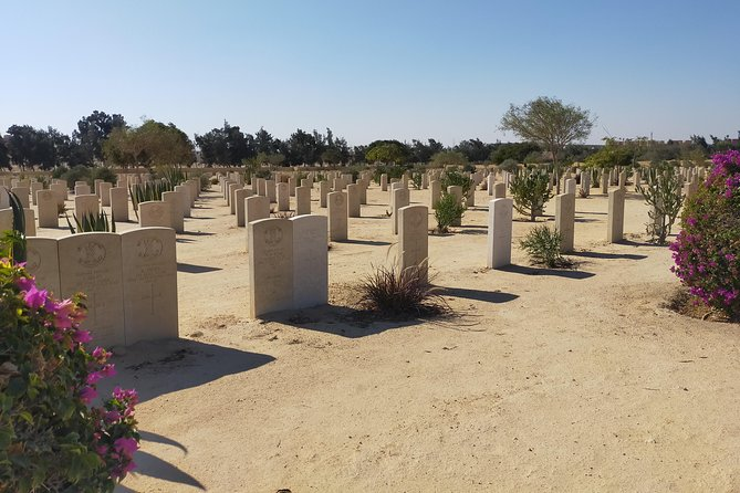 Alexandria and El Alamein Second world ware Cemetery overnight from Cairo