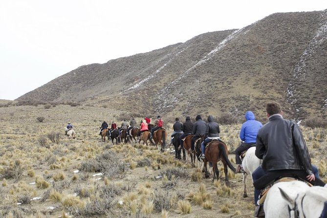 Horseback riding Quebrada del Condor in the Mendoza Andes