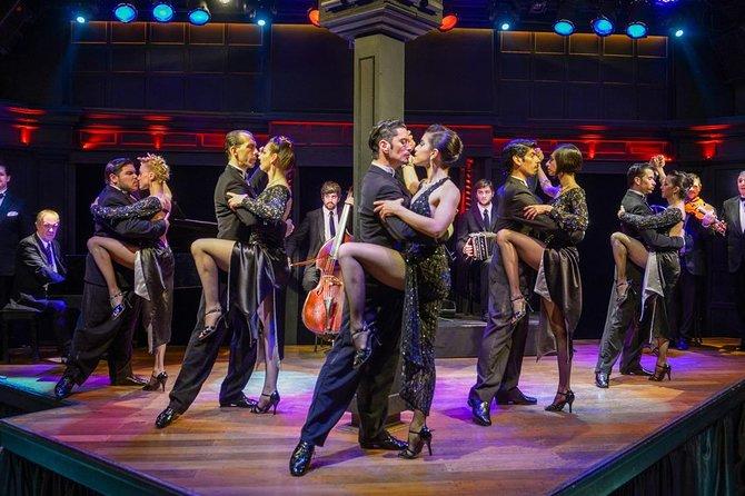 Querandi Tango show Vip with private transfer