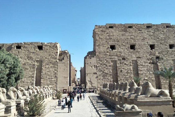 Luxor East Bank guided tour , Karnak and Luxor Temples