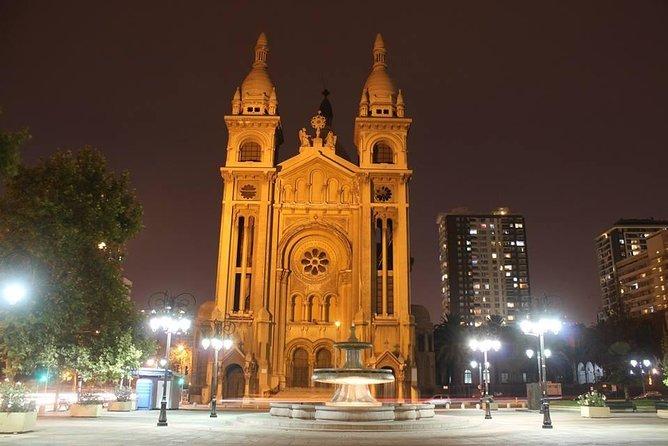 Walking tour through Santiago