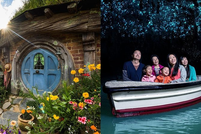 Hobbiton & Waitomo Caves Small Group Tour from Auckland