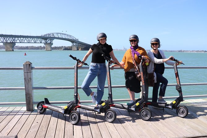 E-Scooter Tours New Zealand - Waterfront Cruise Tour.