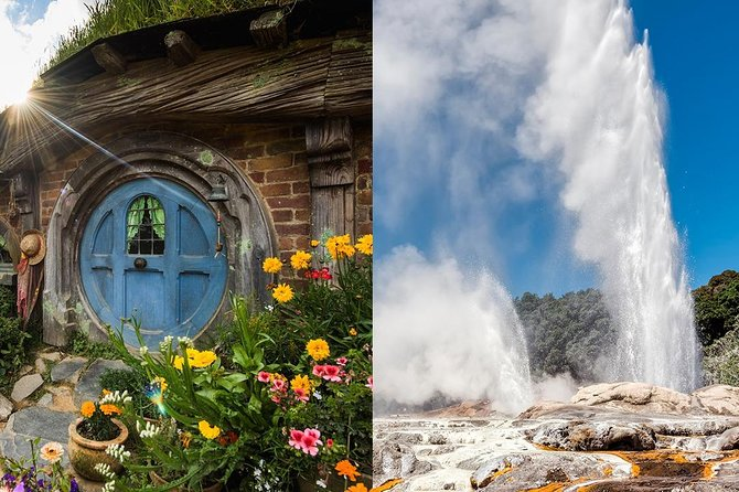 Hobbiton & Rotorua Small Group Tour including Te Puia from Auckland