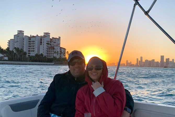 Boat Sunset Trip, 2 Hours for 2 or 6 People, Starting at 7 pm
