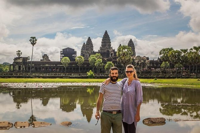 Angkor Park Small, Big Circuit and Banteay Srei Tour in 2 Days