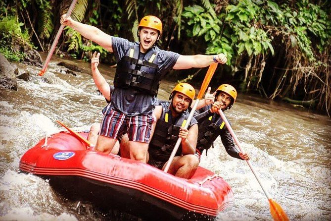Nature White Water Rafting with Surya Bintang Adventure