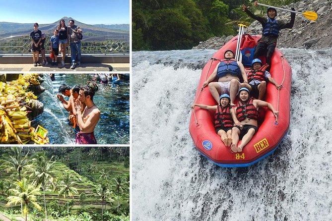 Telaga Waja Rafting and Kintamani Full Day Tour