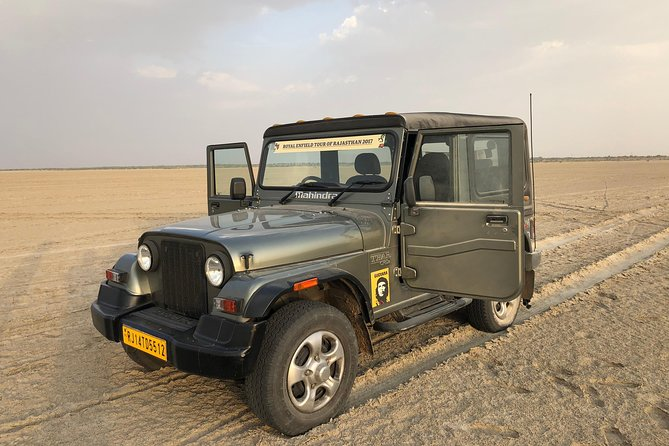 Private: Sambhar Salt Lake & Off Roading Tour From Jaipur Including Lunch