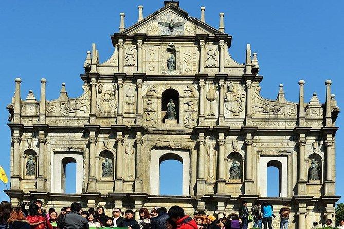 Ruins of St Paul here