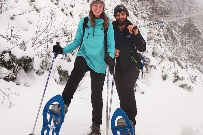 SnowShoe Walking Tour in Poiana Brasov