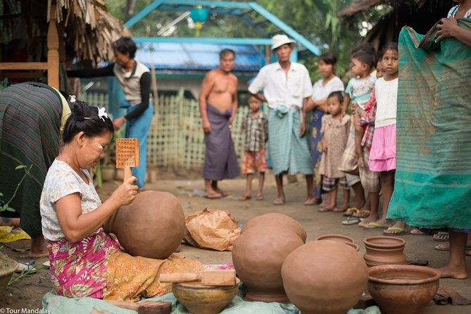 Private Full-day Mandalay Pottery Village Tour Including Lunch photo 1