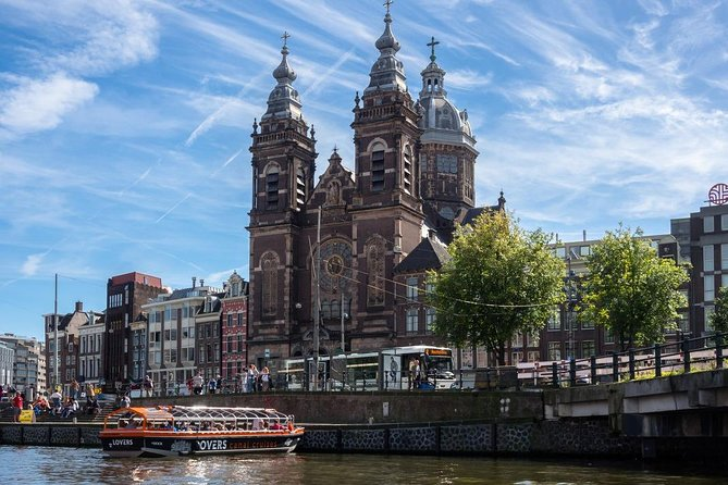 Join-in Shore Excursion: Walking Tour of Amsterdam and Boat Tour