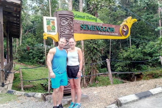 Visite du centre des orangs-outans de Semenggoh au départ de Kuching