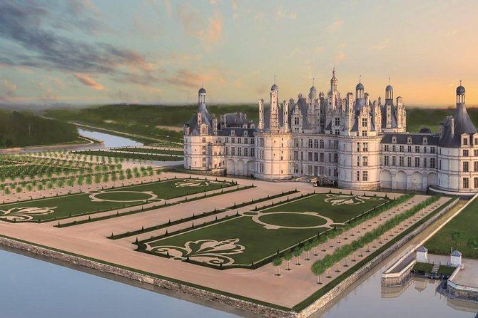 Private Driver from Paris CDG Airport to Chambord