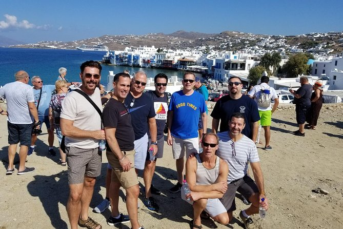 Walking tour in Mykonos town // Shore excursion