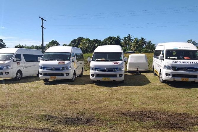 Private Transfers from Nadi Airport Fiji to Hideaway Resort/Tambua Sands Resort