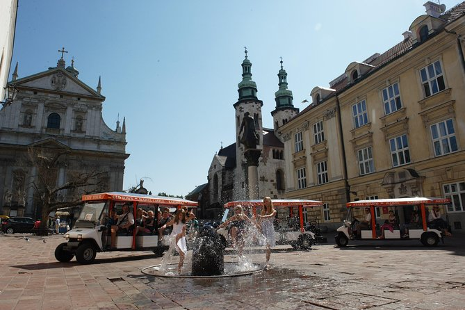 Private Krakow City Tour by Electric Car with audio guide