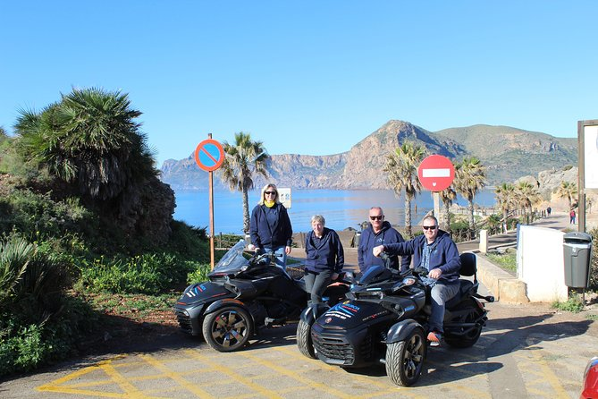 2 hour Can Am Spyder Mar Menor Vistas Tour for minimum of 2 pax photo 3