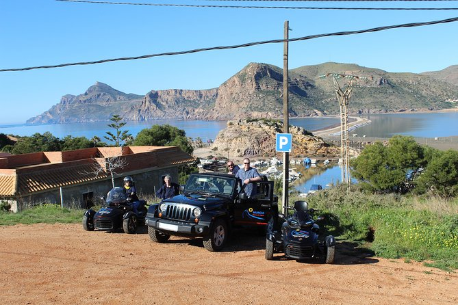 2 hour Can Am Spyder Mar Menor Vistas Tour for minimum of 2 pax photo 2