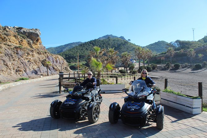2 hour Can Am Spyder Mar Menor Vistas Tour for minimum of 2 pax photo 1