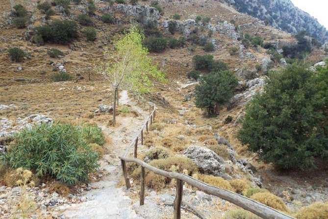 Imbros Gorge from Chania in Crete photo 3