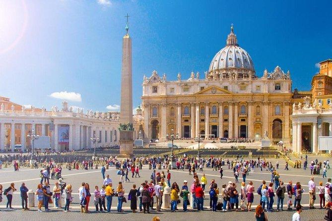 Rome Tour : Vatican Museum, Sistine Chapel & St. Peter's Basilica Tour