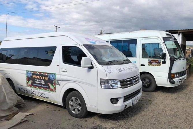 Transfers Nadi Airport Fiji to Warwick & Naviti Resort/Maui Bay Villas/Blue West