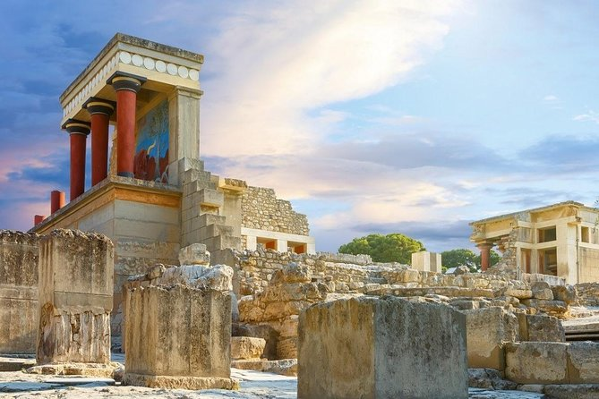 Knossos Palace & Museum from Chania in Crete