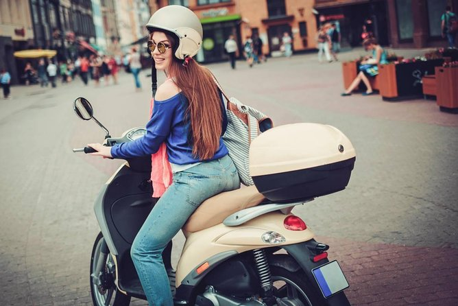 BOLOGNA: MOTORCYCLE RENTAL SCOOTER 50CC with DELIVERY and WITHDRAWAL in HOTEL