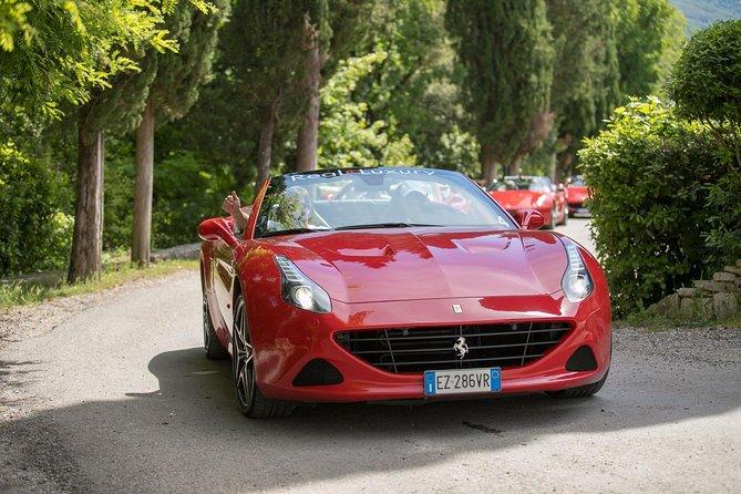Chianti / San Gimignano / Siena-Tour in Ferrari