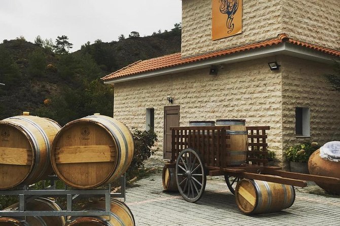 Winery with a wine tasting