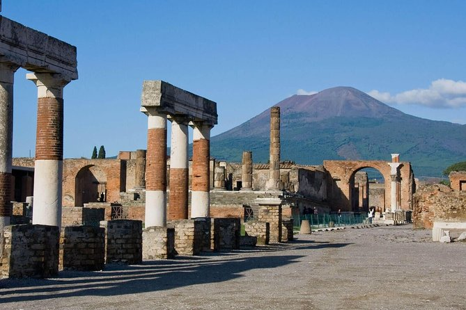 Pompeii Ruins & Naples Private Tour with Lunch and Wine Tasting from Rome