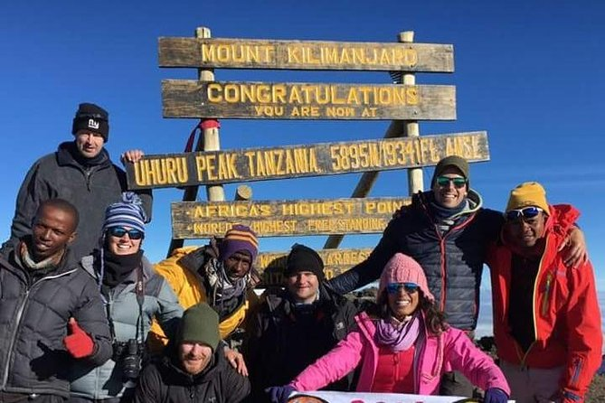 7 days kilimanjaro climb via Rongai route