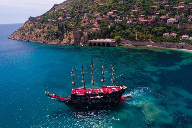 from Side: Alanya Pirates Boat Tour photo 12
