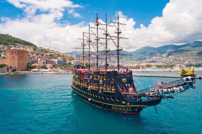from Side: Alanya Pirates Boat Tour photo 7