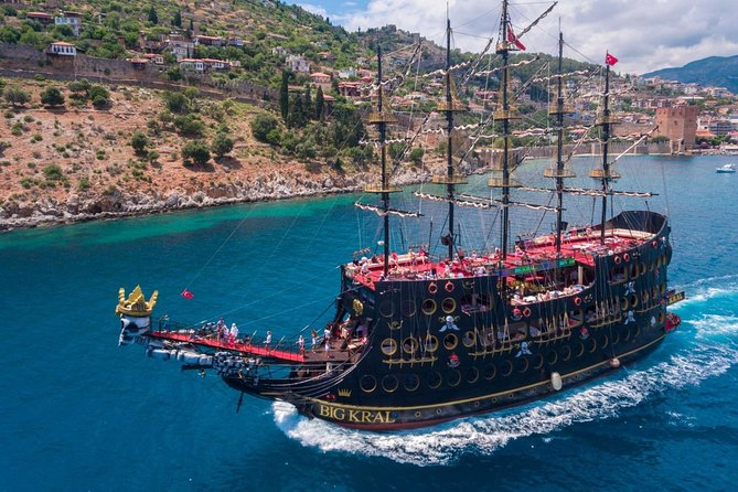 from Side: Alanya Pirates Boat Tour photo 1