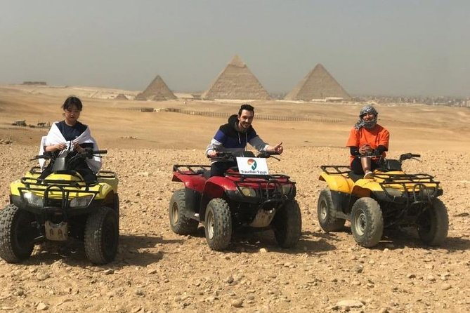 ATV Tour at Pyramids (Quad Bike)