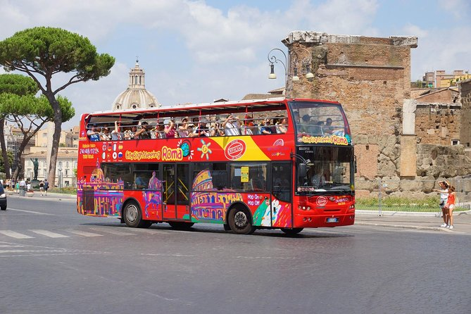 Discover Rome: Exclusive Hop On Hop Off Sightseeing Bus Tour