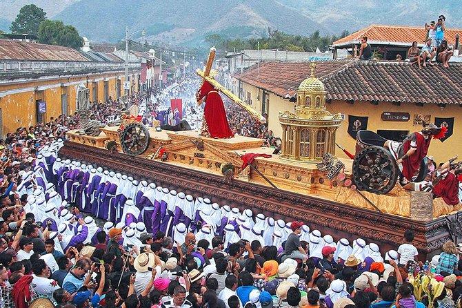 Holy week Day tour at Antigua Guatemala