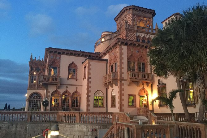 Sarasota Ringling History Tour with Wine and a Sunset photo 3