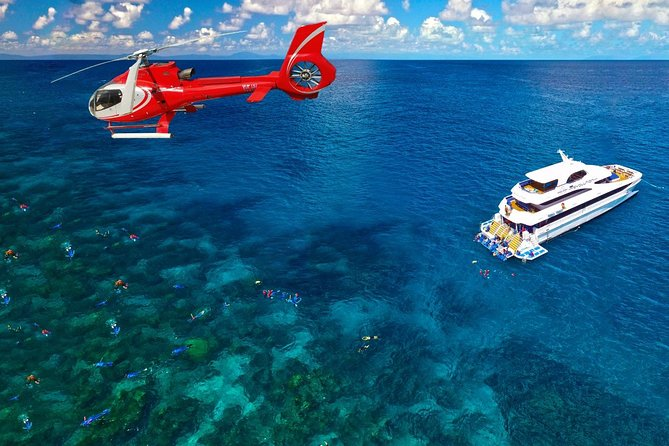 Full Day Reef Cruise Including 10 Minute Heli Scenic Flight: Get High Package