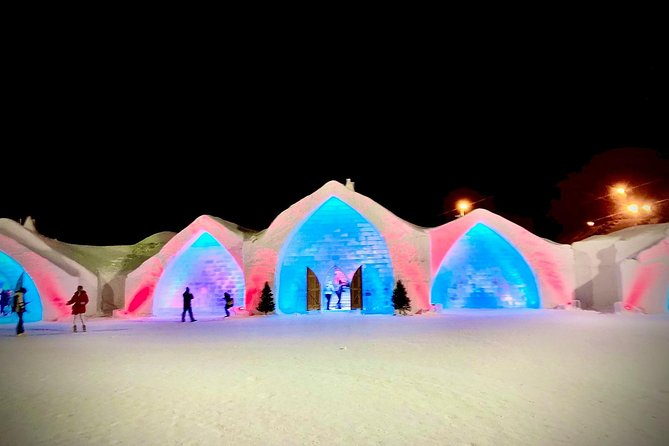 Ice hotel or winter games center, you choose!