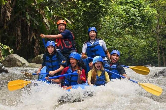 Wonderful Journey To Ubud Center and Rafting At Ayung River