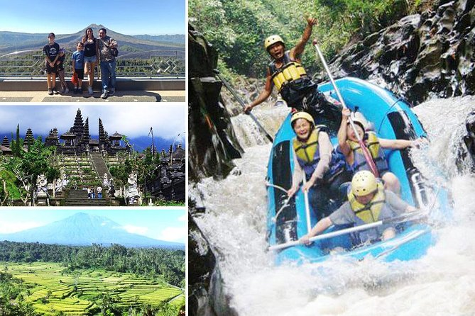 Melangit River Rafting and Besakih Kintamani Tour