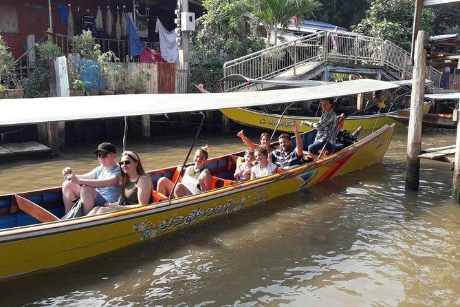 Full day Damnoen Saduak Floating Market + Bridge over River Kwai (Lunch)