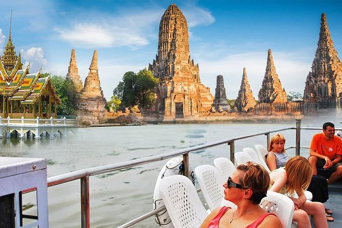 Ayutthaya ruins, Summer Palace & Grand Pearl River Cruise